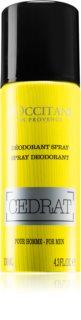L'Occitane Cedrat Deodorant Spray for Men