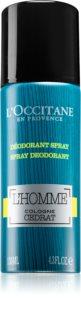 L'Occitane Homme Deodorant Spray for Men