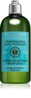 L'Occitane Aromachologie revitalizačný šampón pre suché vlasy