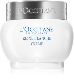L'Occitane Reine Blanche Hydrating and Brightening Face Cream for Even Skintone