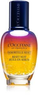 L'Occitane Immortelle Reset nährendes Serum für die Nacht gegen Falten