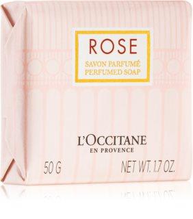 L'Occitane Rose tuhé mýdlo