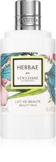 L'Occitane Herbae парфюмирано мляко за тяло