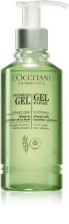 L'Occitane Gel To-Foam гель для очищення шкіри та зняття макіяжу