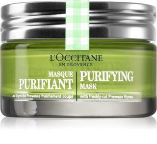 L'Occitane Aqua Réotier почистваща маска за лице