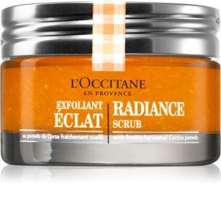 L'Occitane Aqua Réotier озаряващ пилинг за всички типове кожа на лицето