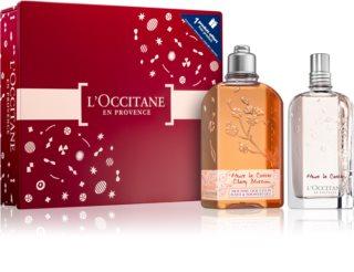 L'Occitane Fleurs de Cerisier Presentförpackning Cherry Blossom (För kvinnor)