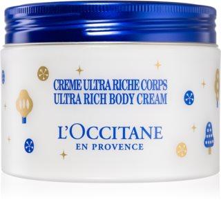 L'Occitane Karité nährende Körpercreme 200 ml limitierte Ausgabe