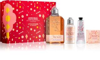 L'Occitane Fleurs de Cerisier Presentförpackning Cherry Blossom (För kvinnor) III