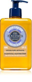 L'Occitane Karité tekuté mýdlo s bambuckým máslem
