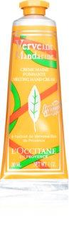 L'Occitane Verveine Mandarine Melting Hand Cream krém na ruky