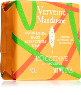 L'Occitane Verveine Mandarine Extra-Gentle Soap Bar Soap with Fragrance