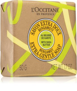 L'Occitane Shea Butter Bergamot Extra-Gentle Soap Bar Soap With Shea Butter