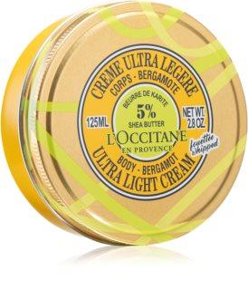 L'Occitane Shea Butter Body-Bergamot Ultra Light Cream Ultra-Light Body Cream With Shea Butter