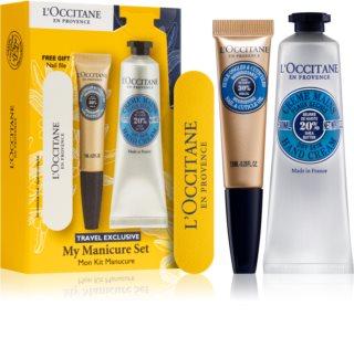 L'Occitane My Manicure Set opakowanie podróżne (do rąk i paznokci)