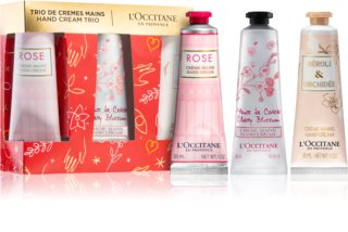 L'Occitane Hand Cream Trio Gift Set (for Hands and Nails)