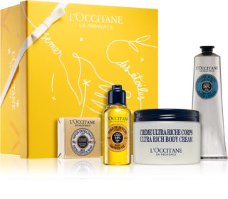L'Occitane Shea Butter Nourishing Shea Ritual Geschenkset (mit Bambus Butter) für Damen