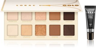 Lorac UNZIPPED™ Gold Eyeshadow Palette + Eyeshadow Base
