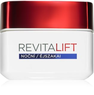 L'Oréal Paris Revitalift crème de nuit raffermissante anti-rides pour tous types de peau