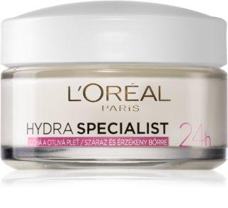L'Oréal Paris Hydra Specialist dnevna vlažilna krema za občutljivo in suho kožo