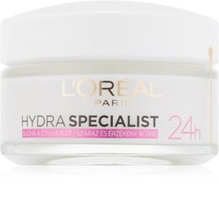 L'Oréal Paris Hydra Specialist crème de jour hydratante pour peaux sensibles et sèches