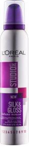 L'Oréal Paris Studio Line Silk&Gloss Volume pjena za volumen i sjaj