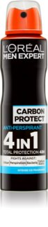 L'Oréal Paris Men Expert Carbon Protect antitranspirante en spray