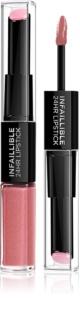 L'Oréal Paris Infallible μακράς διαρκείας κραγιόν και λιπ γκλος 2 σε 1