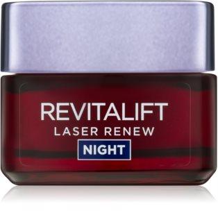 L'Oréal Paris Revitalift Laser Renew noční krém proti stárnutí pleti