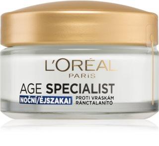 L'Oréal Paris Age Specialist 35+ Nachtcrème  tegen Rimpels