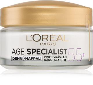 L'Oréal Paris Age Specialist 55+ дневен крем  против бръчки