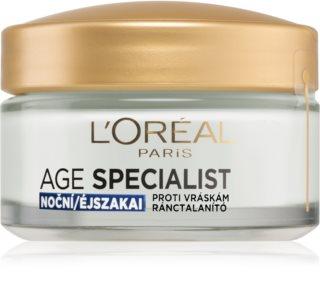 L'Oréal Paris Age Specialist 55+ нощен крем  против бръчки