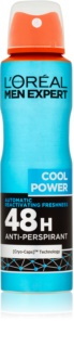 L'Oréal Paris Men Expert Cool Power antitranspirante em spray