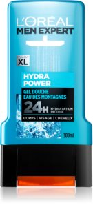 L'Oréal Paris Men Expert Hydra Power Shower Gel for Face, Body, and Hair