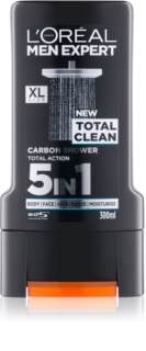 L'Oréal Paris Men Expert Total Clean gel de duș 5 in 1