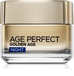 L'Oréal Paris Age Perfect Golden Age Anti-rynke natcreme til moden hud