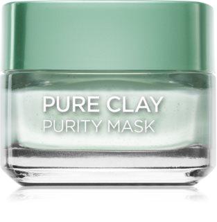 L'Oréal Paris Pure Clay matirajuća maska za čišćenje