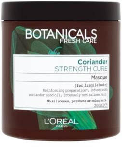 L'Oréal Paris Botanicals Strength Cure maska pro oslabené vlasy