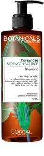 L'Oréal Paris Botanicals Strength Cure šampón pre oslabené vlasy