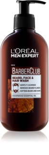 L'Oréal Paris Barber Club Gel Cleanser for Beard, Face and Hair