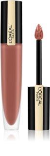 L'Oréal Paris Rouge Signature rouge à lèvres liquide mat