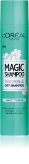 L'Oréal Paris Magic Shampoo Sweet Fusion droogshampoo voor haarvolume die geen witte sporen achterlaat