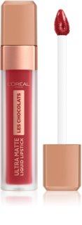 L'Oréal Paris Infallible Les Chocolats ultra matná tekutá rtěnka