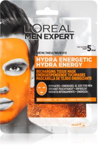 L'Oréal Paris Men Expert Hydra Energetic Moisturising face sheet mask for Men