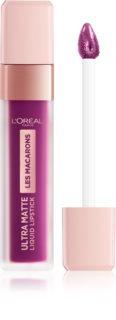 L'Oréal Paris Infallible Les Macarons стойкая матовая жидкая помада для губ