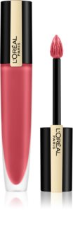L'Oréal Paris Rouge Signature Parisian Sunset матиращо течно червило
