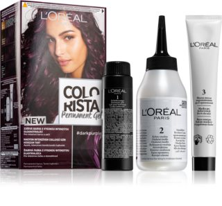 L'Oréal Paris Colorista Permanent Gel μόνιμη βαφή μαλλιών