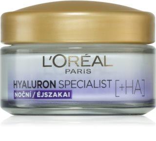 L'Oréal Paris Hyaluron Specialist noćna krema za popunjavanje