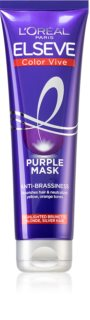 L'Oréal Paris Elseve Color-Vive Purple Nourishing Mask For Blondes And Highlighted Hair