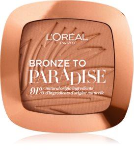 L'Oréal Paris Bronze To Paradise Bronzer